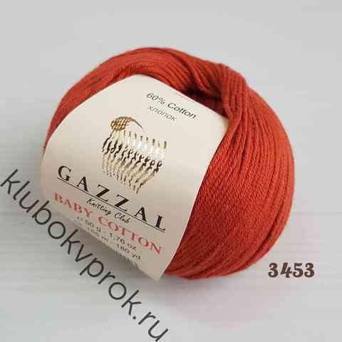 GAZZAL BABY COTTON 3453, Красная глина