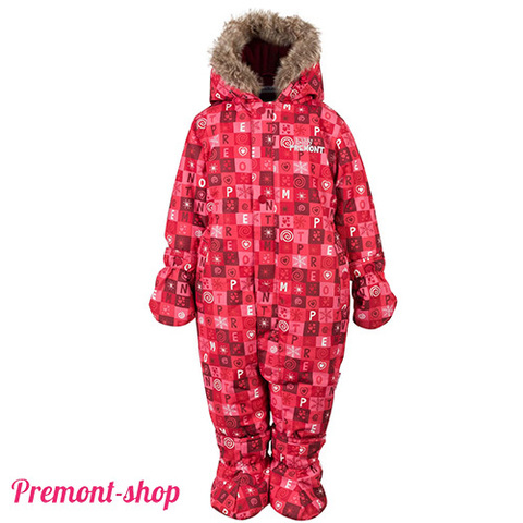 Зимний комбинезон Premont Красные льдинки