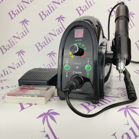 Аппарат для маникюра с педалью 35000 об./65 Вт (черный) TP-269