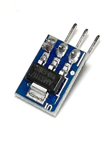 Модуль стабилизатора напряжения AMS1117 3.3 В (mini)