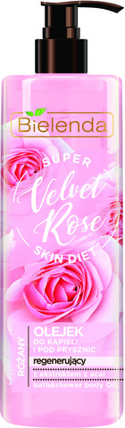 SUPER SKIN DIET Velvet Rose восстанавливающий гель для душа Роза 400мл