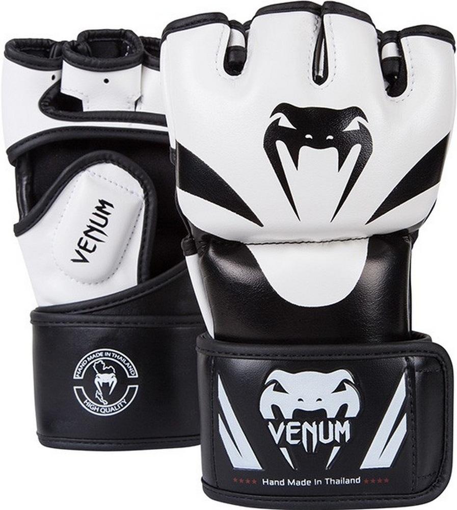 ММА перчатки Перчатки MMA Venum Attack Gloves White 1.jpg