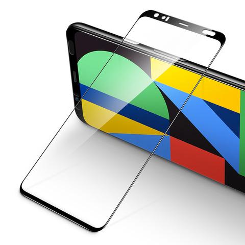 Защитное стекло ESR 3D для Google Pixel 4 (Black / Черное) (2шт)
