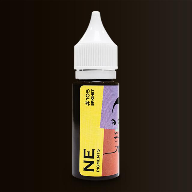 Пигмент NE Pigments #105 Брюнет