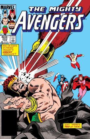 Avengers #252