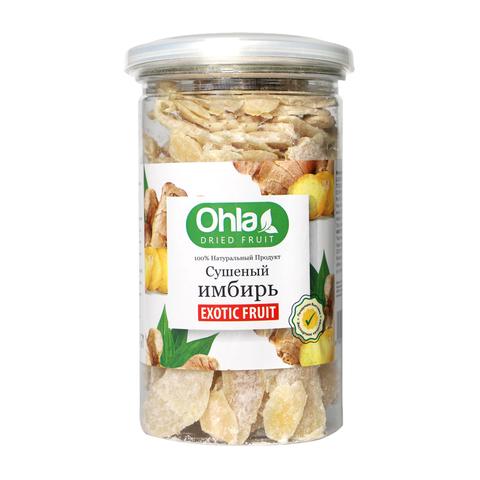 Натуральный сушеный имбирь Ohla, 400 г.