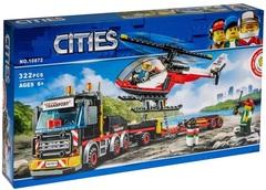Сити 10872 Перевозчик вертолета 322д Конструктор