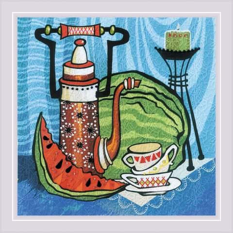Набор для вышивания «Сочный арбуз. Гладь» (0086 РТ)