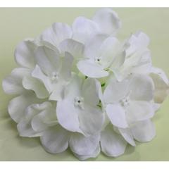 Гортензия искусственная, голова 20 цветочков, 15 см.