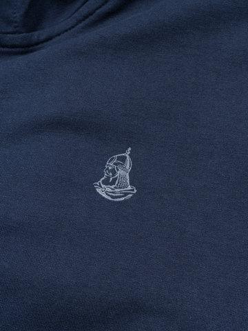 """Blue zip hoodie """"VELIKOROSS"""""""
