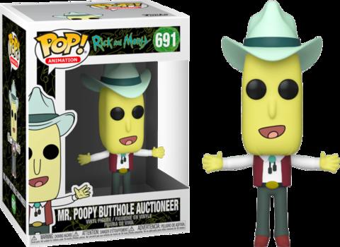 Mr. Poopy Butthole Auctioneer Funko Pop! || Мистер Жопосранчик Аукционист