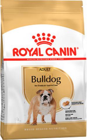 Royal Canin Bulldog Adult сухой корм для английских бульдогов старше 12 месяцев