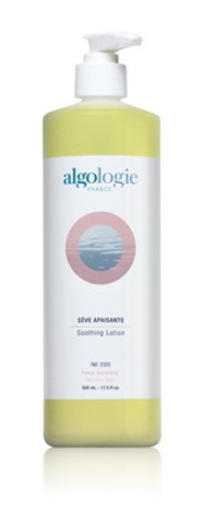 Успокаивающий лосьон для сухой, раздраженной и чувствительной кожи, Algologie, 500 мл.