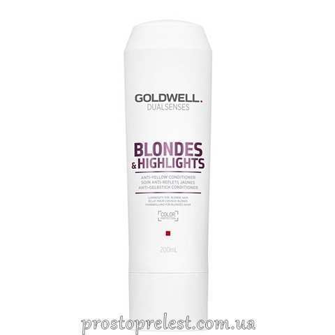 Goldwell Dualsenses Blondes & Highlights Anti-Yellow Conditioner - Кондиціонер проти жовтизни для освітленого волосся