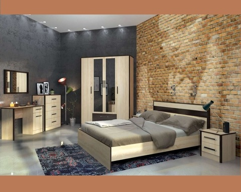 Спальня модульная ЛИРИКА-5