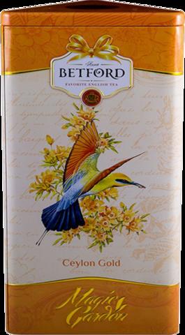 Чай черный Betford Золото Цейлона подарочный набор, 300 г