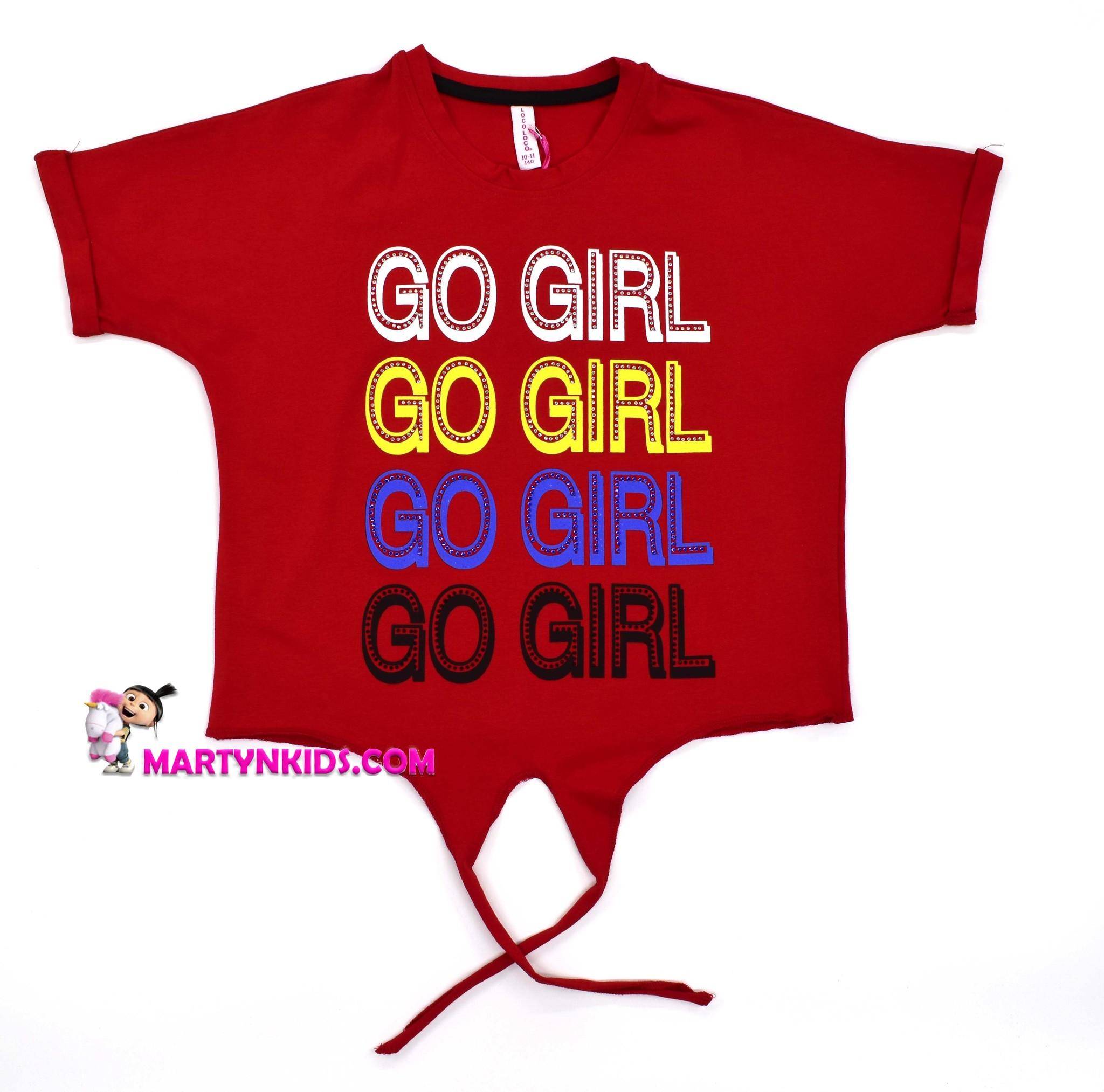 2215  футболкаGO GIRL