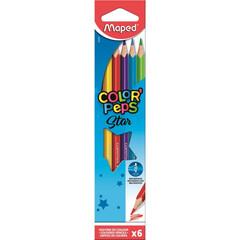 Карандаши цветные Maped Color'peps 6 цветов трехгранные