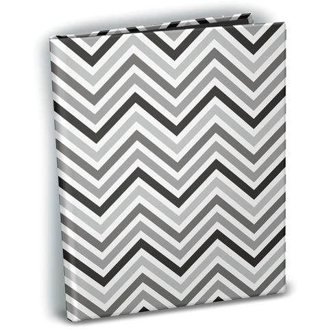 Фотоальбом с файлами 11х16 см Ultra Pro Mini Photo Album- Chevron Black & White