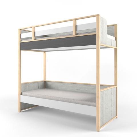 Кровать 2х-ярусная универсальная «Ньютон Грэй»