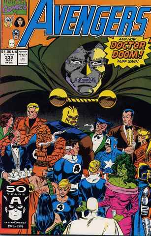 Avengers #332