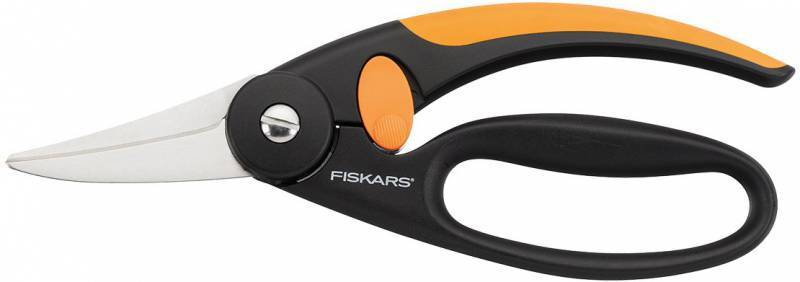 Ножницы Fiskars P45 строительные универсальные, 21,8 см