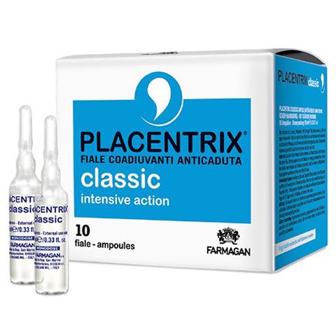 Farmagan Placentrix: Лосьон против выпадения интенсивного действия в ампулах (Classic Intensive Action Lotion), 10*10мл
