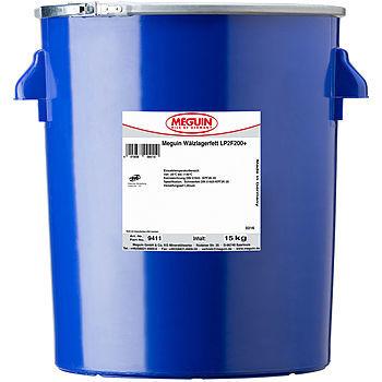 9410 Meguin Walzlagerfett LP2F200+  Минеральная молибденовая литиевая смазка высокого давления (черная)