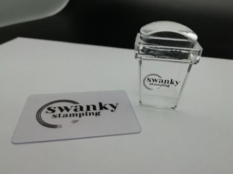 Штамп Swanky Stamping, силиконовый, прямоугольный, высокий 2*3 см.