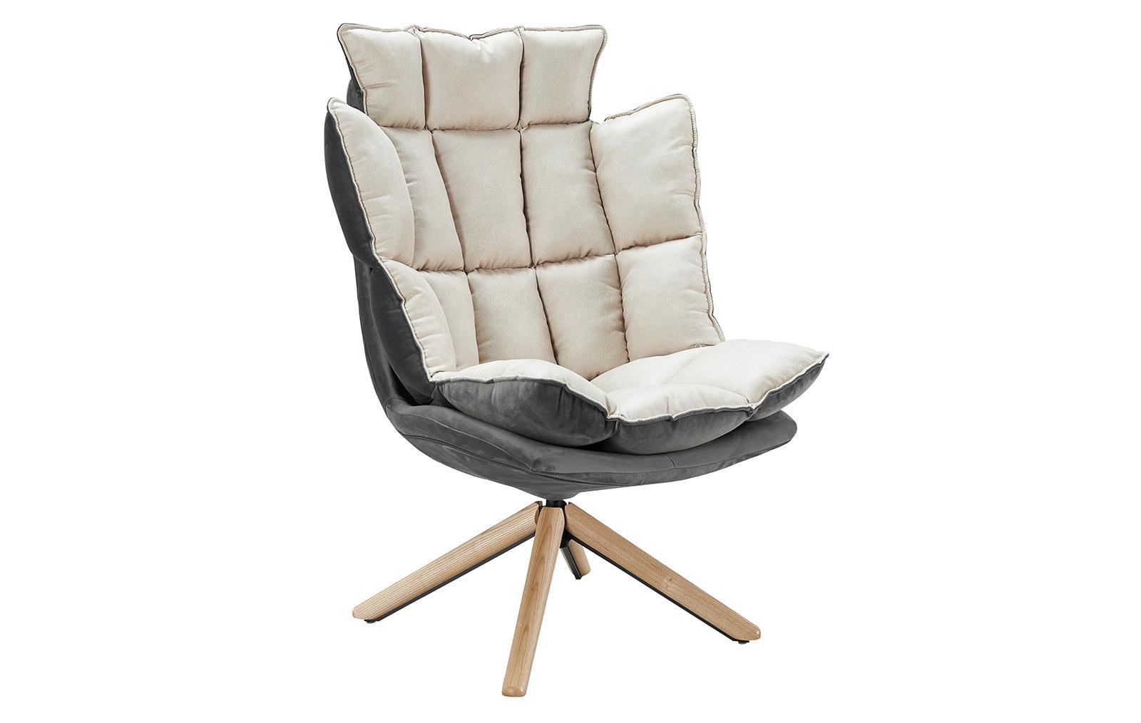 Дизайнерское кресло DC-1565С (бежевое) BEIGE
