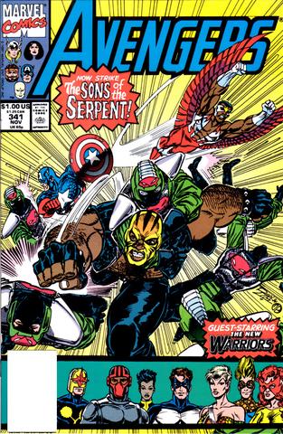 Avengers #341