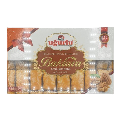 Пахлава с грецким орехом UGURLU, 400 гр
