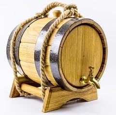 Дубовая бочка для алкоголя, 5 л, фото 2