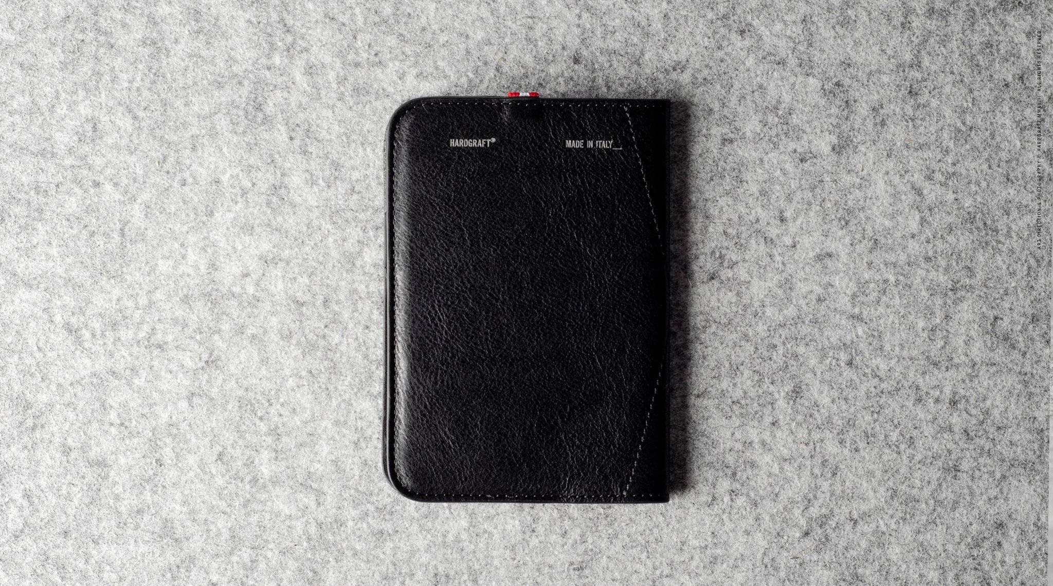 Hard Graft Обложка на паспорт Trip Passport Cover Coal
