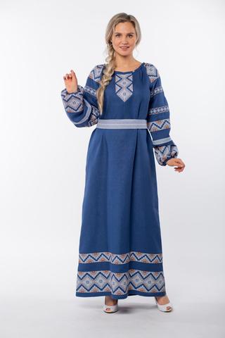 Платье льняное Алтайское