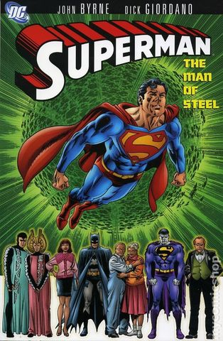 Superman The Man of Steel TPB