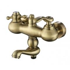 Смеситель KAISER Logo 47722-1 Bronze для ванны