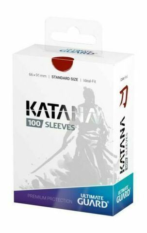 Katana Sleeves Red (100)