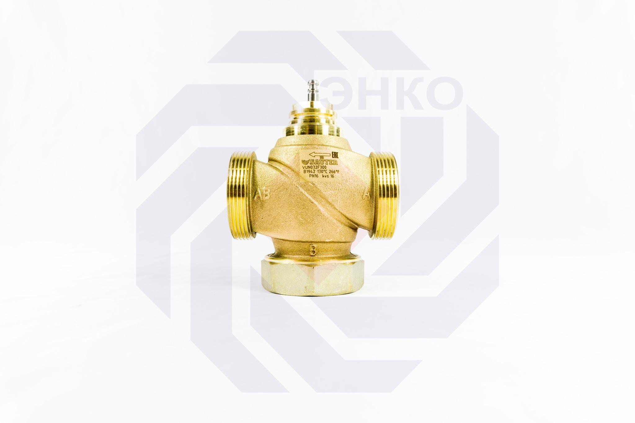 Клапан регулирующий двухходовой SAUTER VUN DN 32