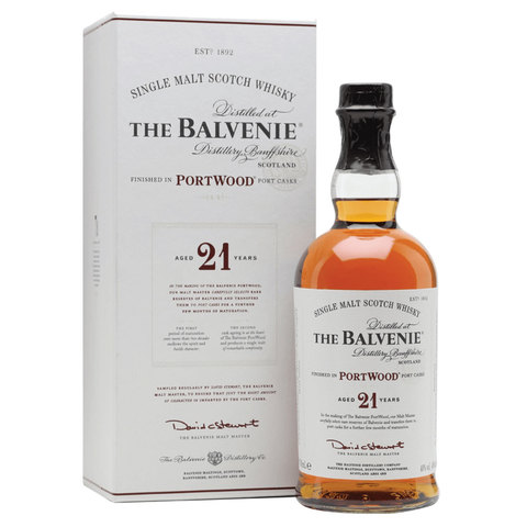 Balvenie Portwood 0,7 L 40 % 21 Years Old TUB