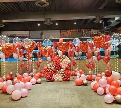 Воздушные шары для влюбленных