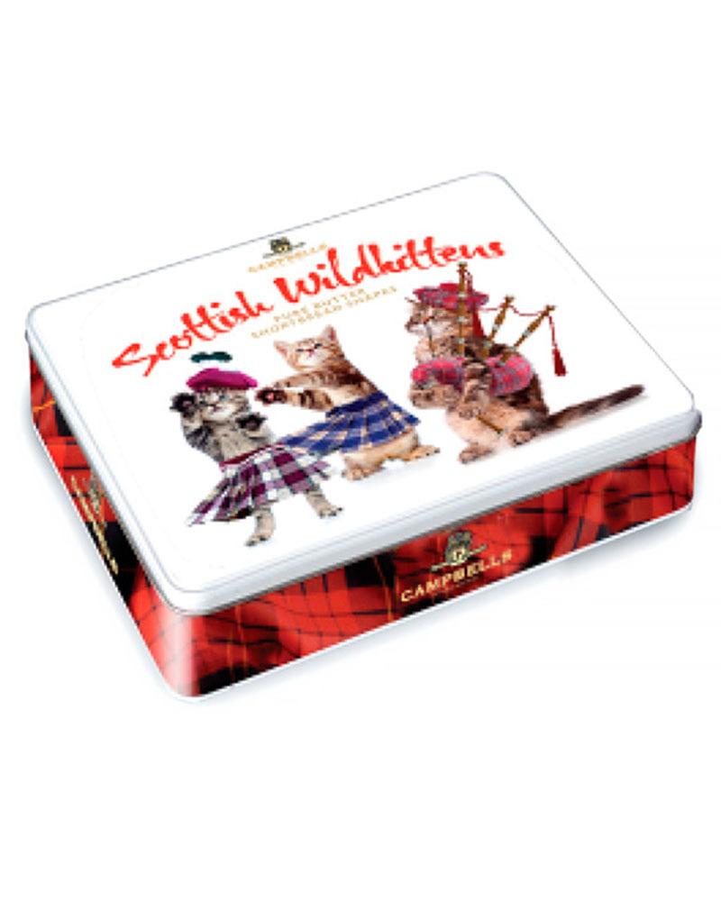 Песочное печенье Campbells ассорти Scottish Wild Kittens, 150 гр,