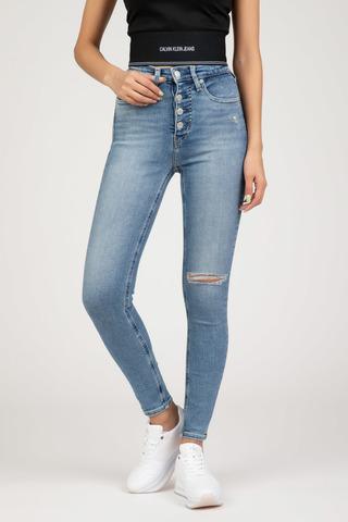 Женские джинсы Calvin Klein HIGH RISE SUPER SKINNY ANKLE