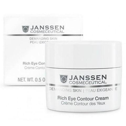 Janssen Demanding Skin: Питательный крем для кожи вокруг глаз (Rich Eye Contour Cream)