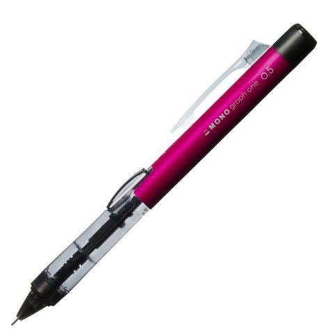 Механический карандаш 0,5 мм Tombow Mono Graph One (розовый)