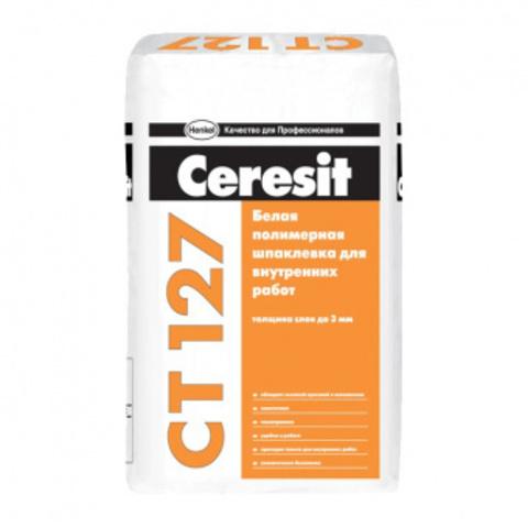 Шпаклевка Церезит СТ 127 полимерная 25 кг