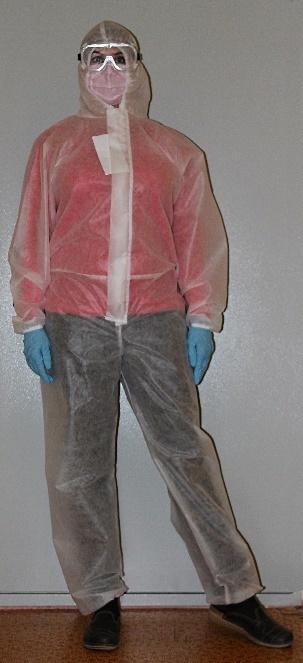 Комбинезон Каспер с капюшоном «Швейный Дом» 40 мкм