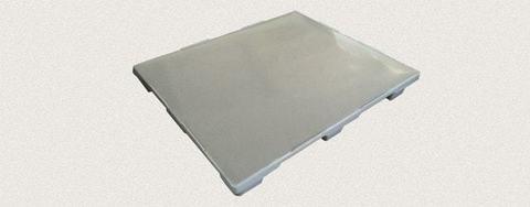 Поддон пластиковый сплошной 1200x1000x150 мм. Цвет: Серый