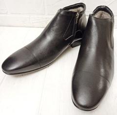 классические зимние ботинки мужские