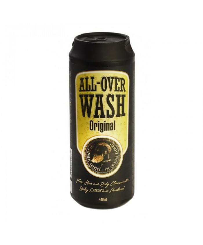 Очищающее средство CHEMICAL BARBERS All Over Wash Original для лица, тела и волос 440 мл
